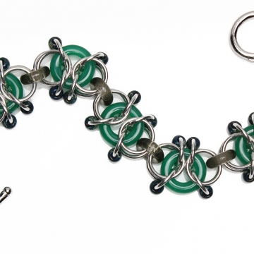 Encapsulated Delicacy bracelet kit - from New Connections book