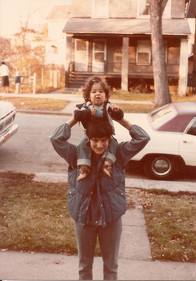 Me & Mom in 1979